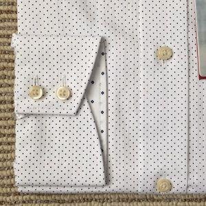 Ted Baker Dress Shirt - Navy spot shirt